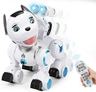 Perro robot para niños