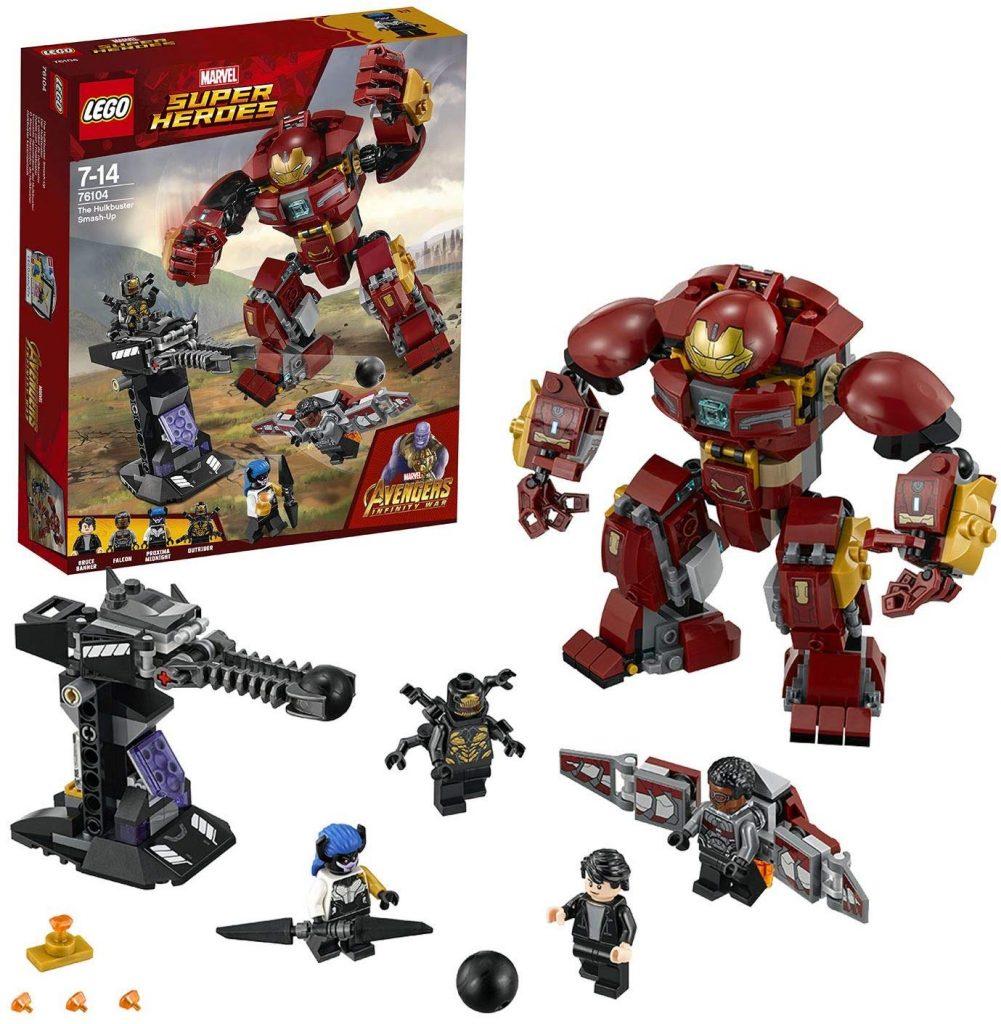 LEGO robots niños